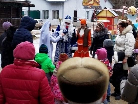 В ивановских парках проводятся новогодние представления