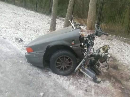 Четыре человека пострадали утром 1 января на Приморском шоссе