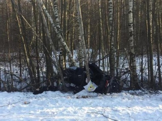 Москвич погиб на снегоходе под Тверью