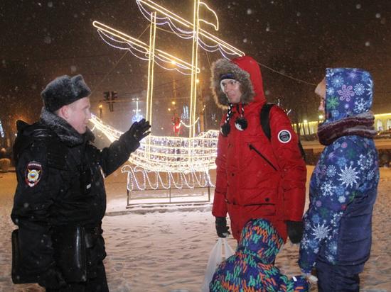 В Костромской области порядок в новогоднюю ночь обеспечивали 500 полицейских