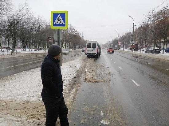 Случилась авария 31 декабря, на Шереметевском проспекте