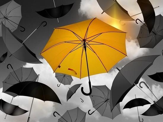 В Петербурге установлен желтый уровень погодной опасности