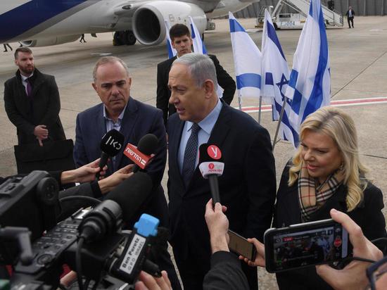 Премьер-министр Биньямин Нетаниягу вылетел с официальным визитом в Афины