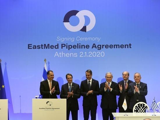 Подписан договор о поставах израильского газа в Европу