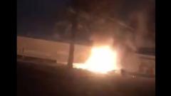 Последствия ракетного удара США по Багдаду попали на видео
