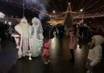 Новый год под Соборной горой в Серпухове встретили 10 000 человек