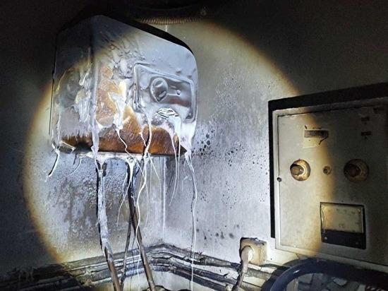 В Челябинске произошел пожар в гостинице «Малахит»
