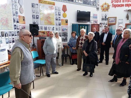 Музей еврейского героизма и памяти Холокоста принял гостей