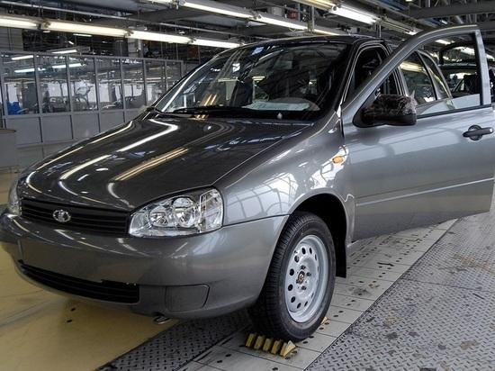 Самым дешевым автомобилем будет седан Lada Granta