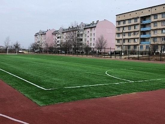 В калмыцкой столице построен еще один спорткомплекс