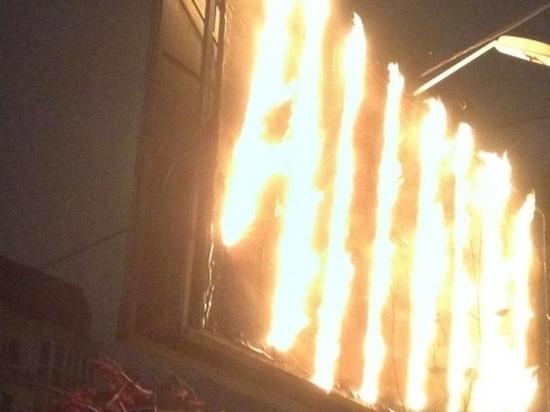 «Тревожный» звонок с сообщение о пожаре поступил на пульт ЕДДС региона сегодня, 6 января, в половине шестого утра