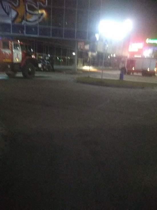 В торговом центре Пскова был пожар, второй этаж закрыт