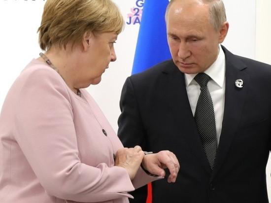 Тайный сговор против США: зачем Меркель едет к Путину