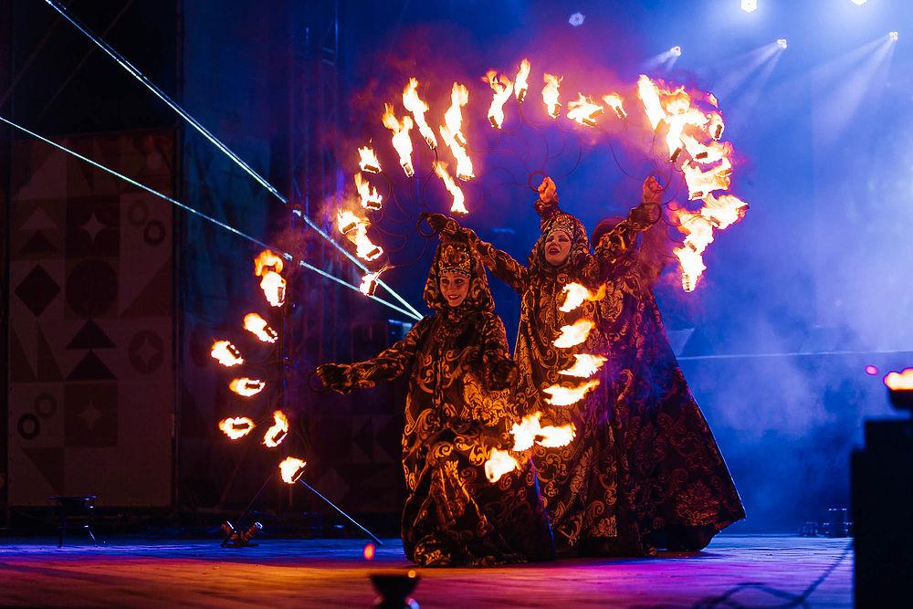 В Рязани стартовал фестиваль огня и света