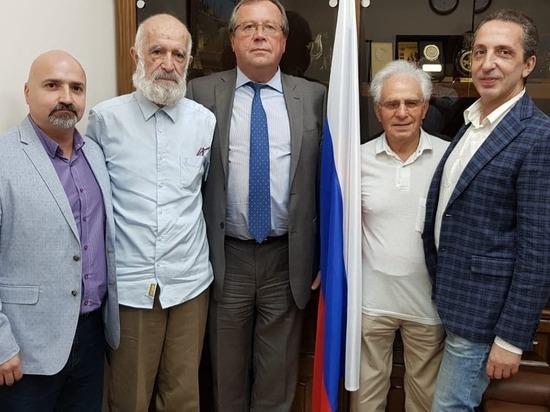 Посол России в Израиле встретился с представителями «Хазит Хакавод»
