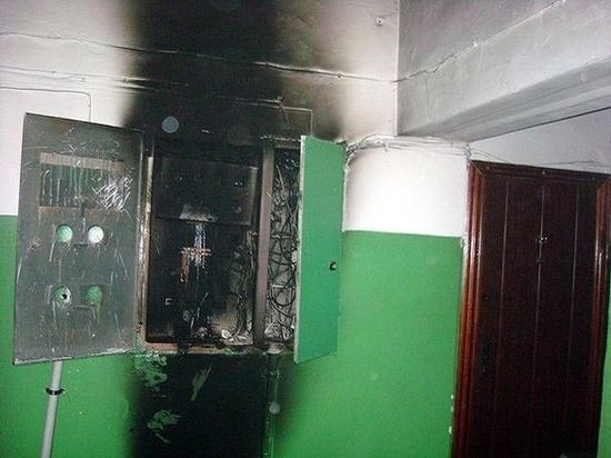 В Иванове в МКД сгорели два электрощита