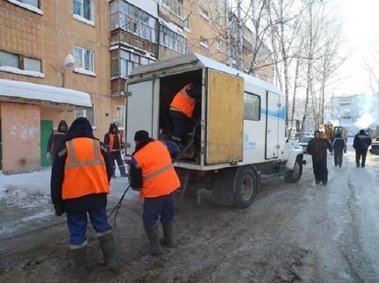 В Томске на 7 января без воды остались тысячи горожан