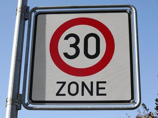 В Берлине введут больше зон с ограничением скорости до 30 км/час