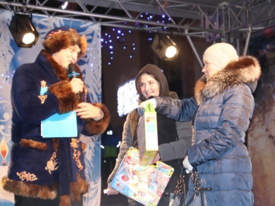 Вчера, 7 января, на фестивале «Новогодний городок» победителям акции транспортного предприятия ИПТ вручили награды