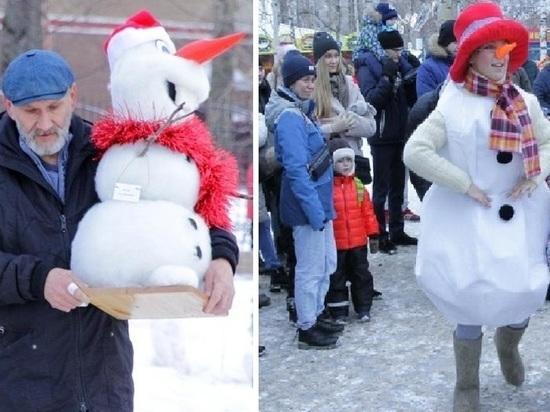 Героиней северодвинского городского мероприятия стала Снегомышь