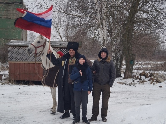 Арабский шейх дошел до Тульской области со Звездой Путина