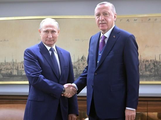 Путин и Эрдоган запустили