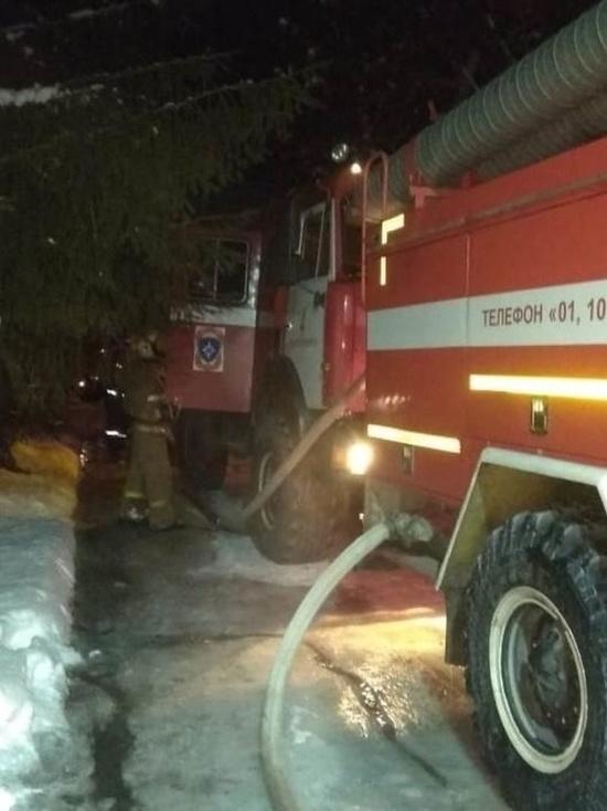 В Новосибирской области сгорела начальная школа