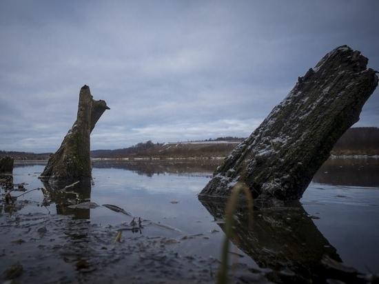 Найденное в Оке затонувшее 100-летнее судно оказалось гигантом