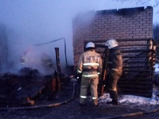 Пожар в Ивановской области стал причиной смерти матери и сына