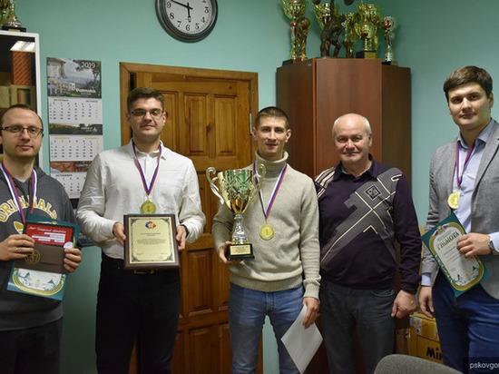 В Пскове наградили победителей Спартакиады среди организаций города