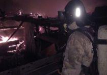 Пожар в Тетюшском районе уничтожил жилой дом и унес жизнь мужчины