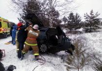 Спасатели Марий Эл извлекли людей из авто на Сернурском тракте