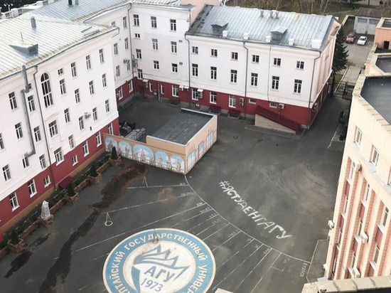 Общественники снова отстаивают сквер на площади Сахарова в Барнауле