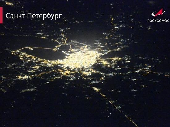 Роскосмос опубликовал свежий снимок Петербурга с высоты 420 километров
