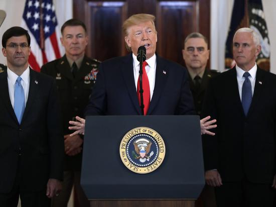«Мягкое» заявление Трампа по Ирану объяснили боязнью превышения полномочий