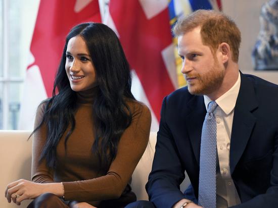 О решении его и Меган Маркл сложить королевские полномочия стало известно из соцсетей