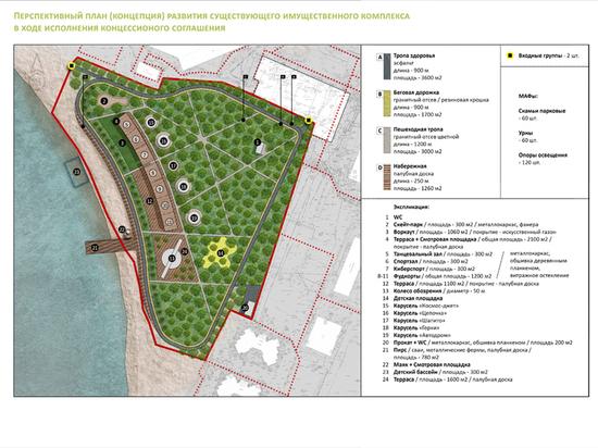 Воронежский парк «Дельфин» отдадут в концессию на 25 лет