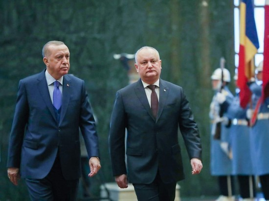 Президент Молдовы совершил официальный визит в Турецкую Республику