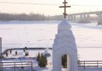 Почти в полмиллиона рублей обойдется городскому бюджету строительство крещенского городка в Барнауле