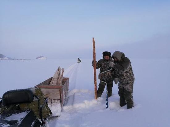 В Бурятии определили участки для подледного лова омуля и сига