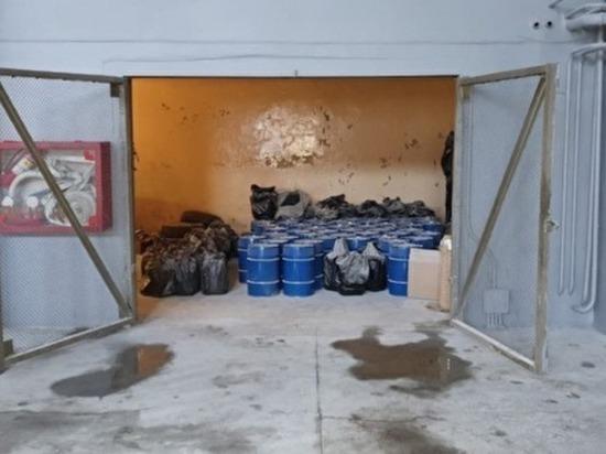 В Копейске обнаружили завод по производству наркотиков