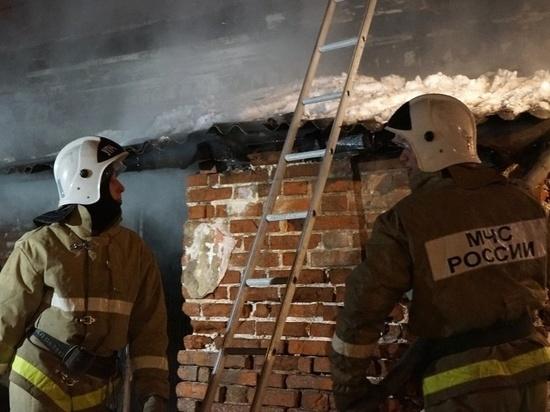 В Ивановской области сгорела очередная баня