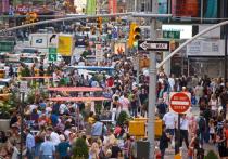 Темп роста населения США самый низкий со времен Первой мировой войны