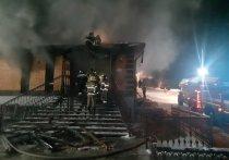 В Иркутском районе подожгли два ритуальных салона
