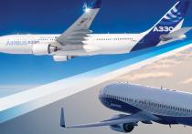 Airbus впервые впереди Boeing