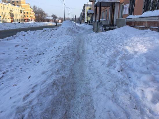 Улицы Барнаула не прошли общественный контроль