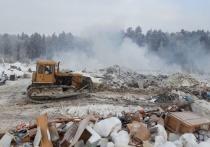Высокинский намерен забрать тлеющую свалку на Уралмаше в собственность города