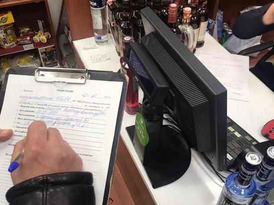 В калмыцкой столице девять магазинов незаконно торговали алкоголем