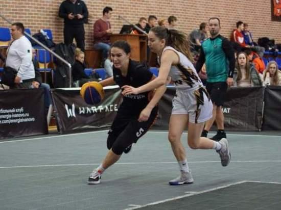 В Иванове прошел третий этап Чемпионата России по баскетболу 3х3