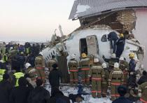 Опубликованы предварительные выводы о крушении пассажирского самолета в Казахстане